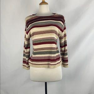 Kaos Multi Metallic Sweater NEW